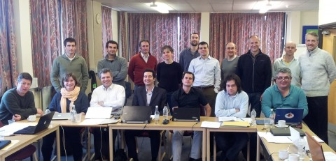 PANDORA project group photo at the Kick-Off Meeting in 2012.