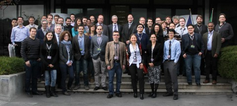 STIFF-FLOP project group photo, 2013